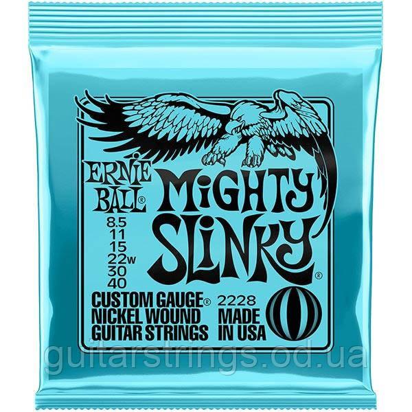 Струны Ernie Ball 2228 Mighty Slinky 8.5-40