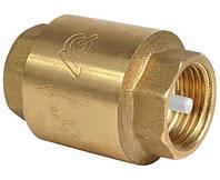 Клапан обратный муфтовый (платиновый шток) Ду15