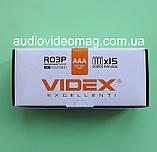 Батарейка VIDEX R03 ААА 1.5 V солевая микропальчиковая, фото 4