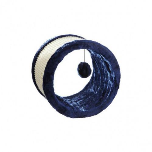 Когтеточка для кошек Trixie круглая синяя 23х20 см
