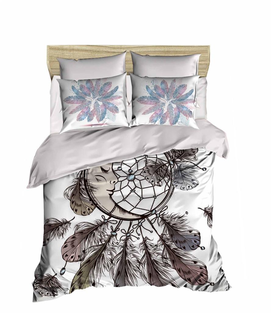 Комплект постельного белья двуспальный Ranforce 3D Dreamcatcher 200х220 (251OZ_2,0)
