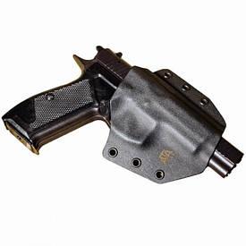 Кобура пластиковая полускрытая ATA Hit Factor Форт-14 черная