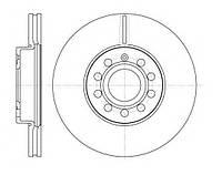 Передний тормозной диск SKODA OCTAVIA 2.0FSI, TDI (2004г-), SUPERB ,пр-во TRW DF4295, фото 1