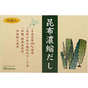 Osawa Kombu dashi ламинария японская ов-Хоккайдо концентрат 36 пакетов по 5 гр