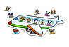 Настільна гра-лото для малюків «Захоплююча подорож» Orchard Toys, фото 2