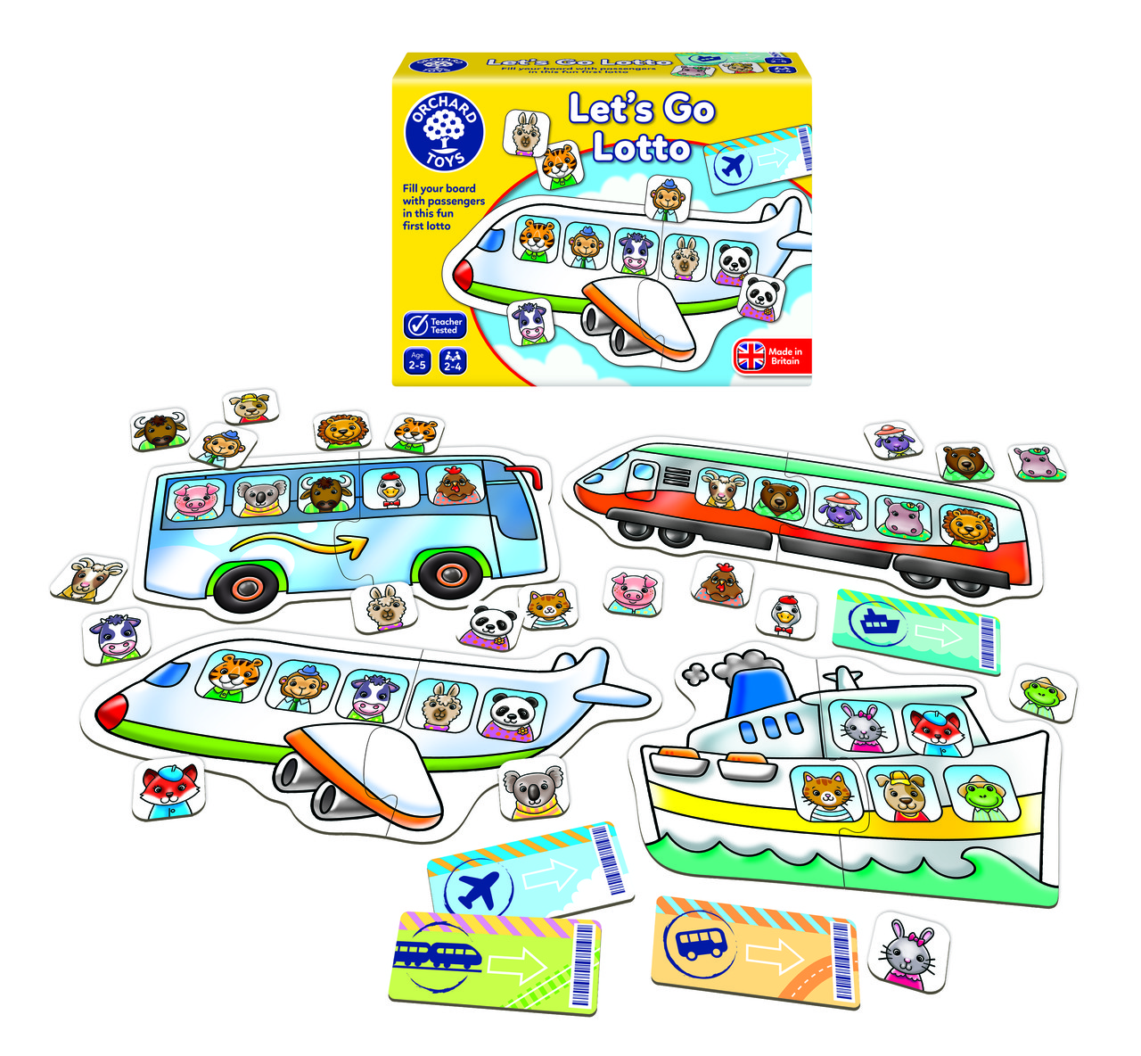 Настільна гра-лото для малюків «Захоплююча подорож» Orchard Toys