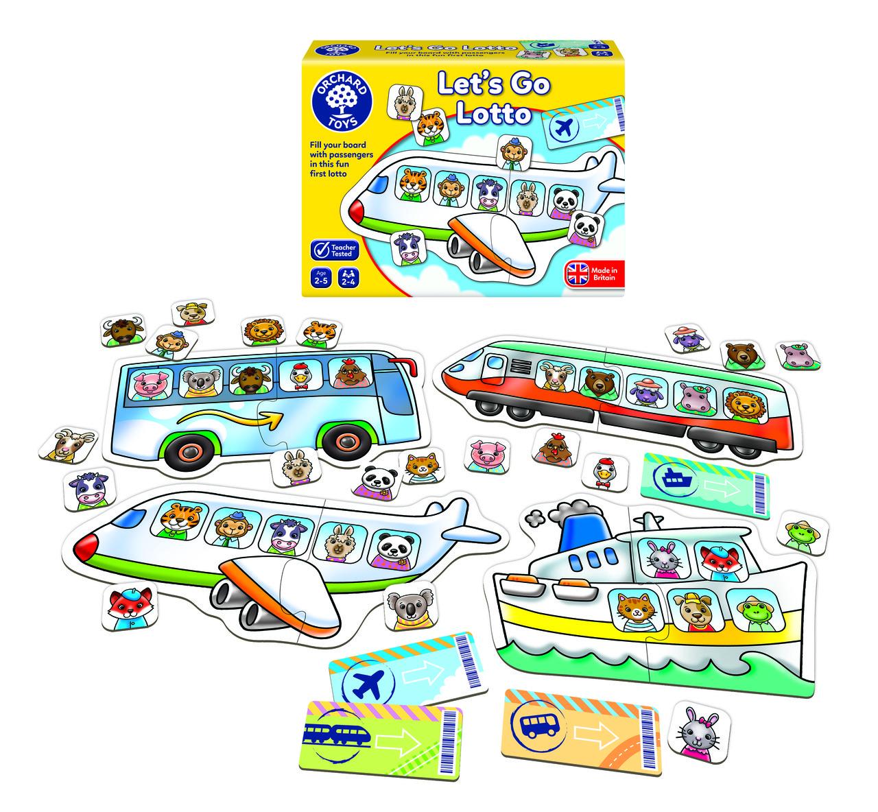 """Настольная игра-лото для малышей """"Увлекательное путешествие"""" Orchard Toys"""