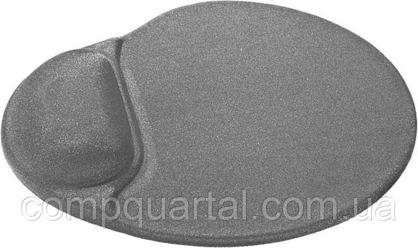 Килимок для мишки гелевий Defender Easy Work (50915) сірий