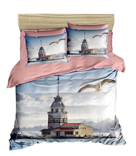 Комплект постельного белья двуспальный Ranforce 3D LightHouser 200х220 (205OZ_2,0)