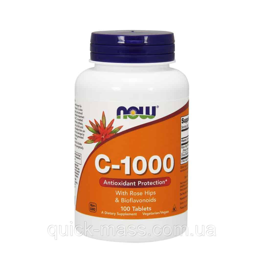 Витамин С NOW Vitamin C-1000 100 таб