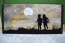 Картины на доске Дети