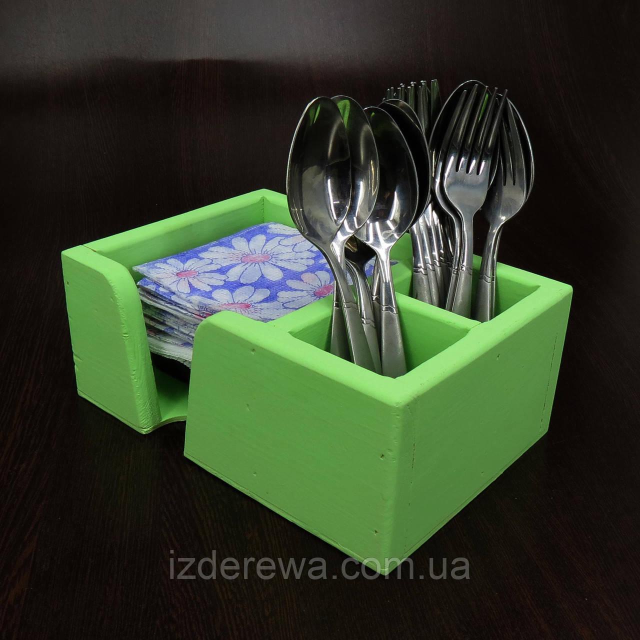 """Подставка для столовых приборов """"Аппетито"""" мохито"""