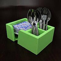 """Подставка для столовых приборов """"Аппетито"""" мохито, фото 1"""