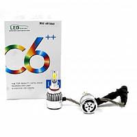 Автомобильные лампы светодиодные С6 LED HB3 9005 Белые, фото 1