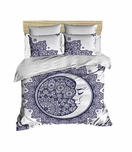 Комплект постельного белья двуспальный Ranforce 3D Moon 200х220 (247OZ_2,0)