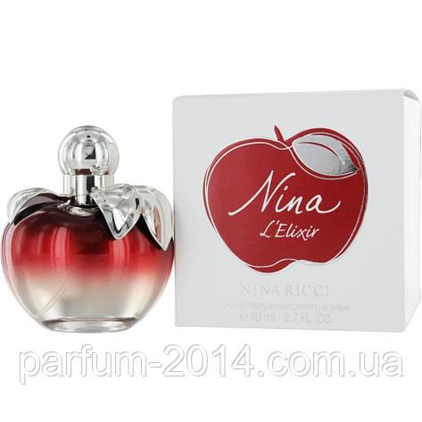 Женская парфюмированная вода Nina Ricci L`Elixir (реплика), фото 2