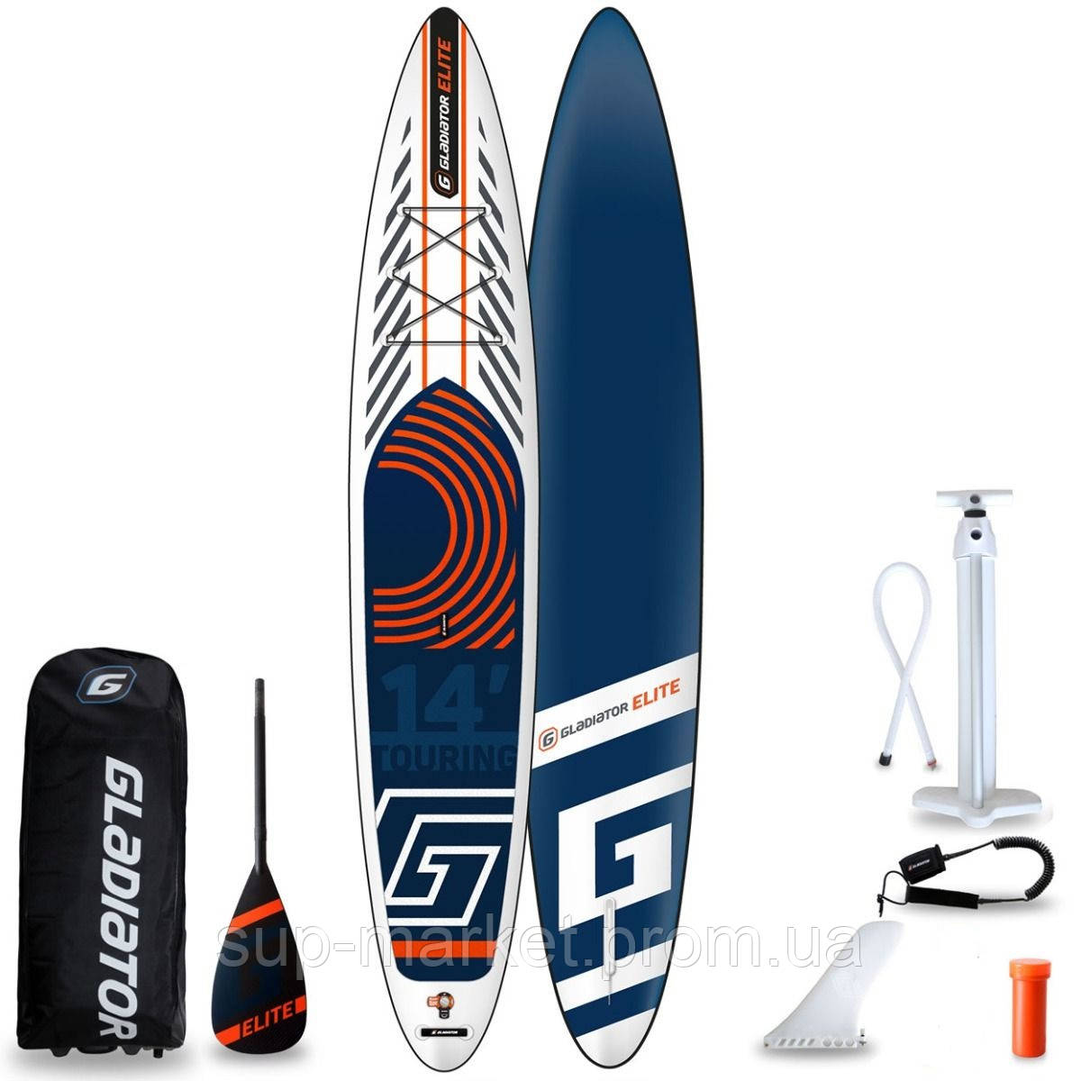 SUP доска Gladiator ELITE 14'0''T x 30'' x 6'', 26psi, 2020