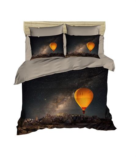 Комплект постельного белья двуспальный Ranforce 3D Night Sky 200х220 (436OZ_2,0)