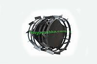 Грунтозацепы к мотоблоку ф380 со ступицей 32 мм, шестигранник