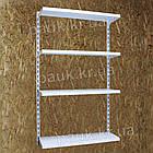 Стеллаж настенный Н1450 ТИП 1, полочный настенный стеллаж, фото 2