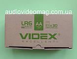 Батарейка VIDEX LR6 АА 1.5V щелочная Alkaline пальчиковая, фото 4