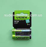 Батарейка VIDEX LR6 АА 1.5V щелочная Alkaline пальчиковая, фото 2