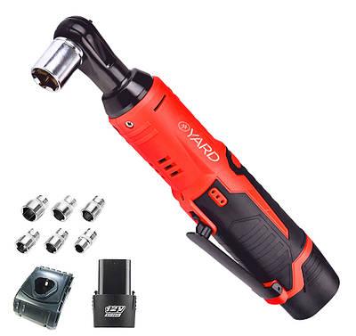 Торцевий ключ акумуляторний YARD CRW-1238 USA (Гарантія 60 місяців)