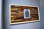 Картина панно из дерева отпечаток пальца, фото 2