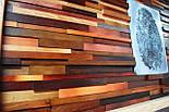 Картина панно из дерева отпечаток пальца, фото 3