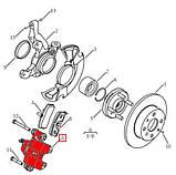 Суппорт тормозной передний с ABS L Geely CK / CK2, фото 2
