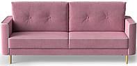 Диван раскладной (еврокнижка) Купер розовый Shik
