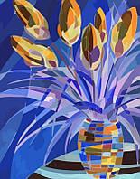 """Картина по номерам """"Весенние цветы"""" 35х45 см"""