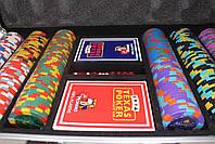 """Покерный набор на 300 фишек """"Monte Carlo Millions"""", фото 4"""