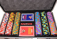 """Покерный набор на 300 фишек """"Monte Carlo Millions"""", фото 5"""