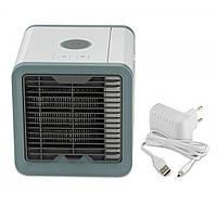 Портативный переносной компактный кондиционер (охладитель - очиститель -увлажнитель воздуха) 4в1 Rovus Arctic Air с подсветкой (Мини-кондиционер)