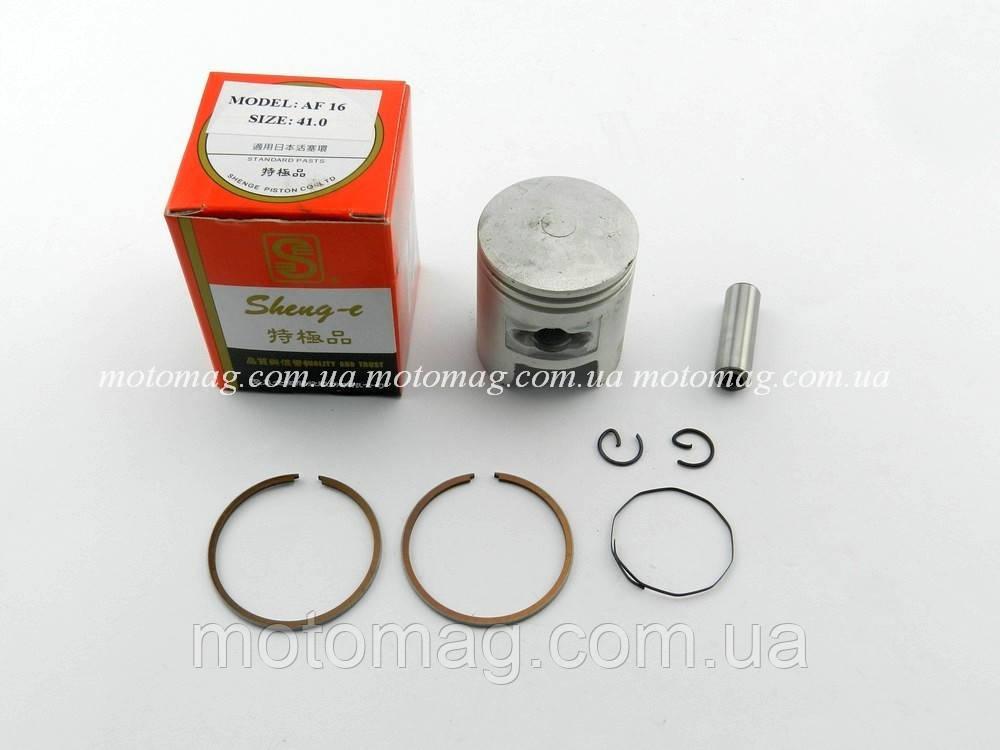 Поршень 50cc Honda Tact AF-16/09/12/ 14/17, ø-41 мм, SPI/SEE (тайвань)