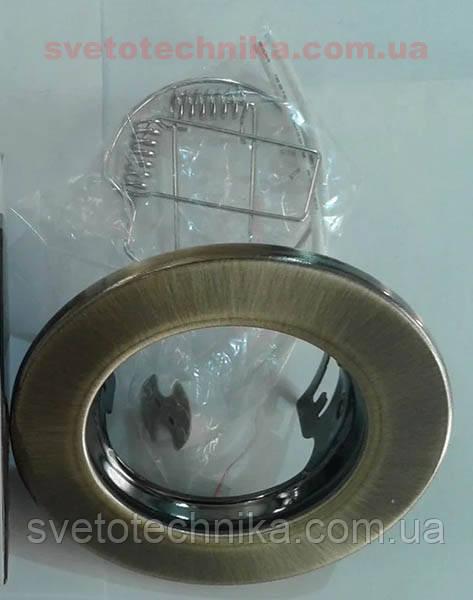 Встраиваемый светильник Feron DL10 античное золото