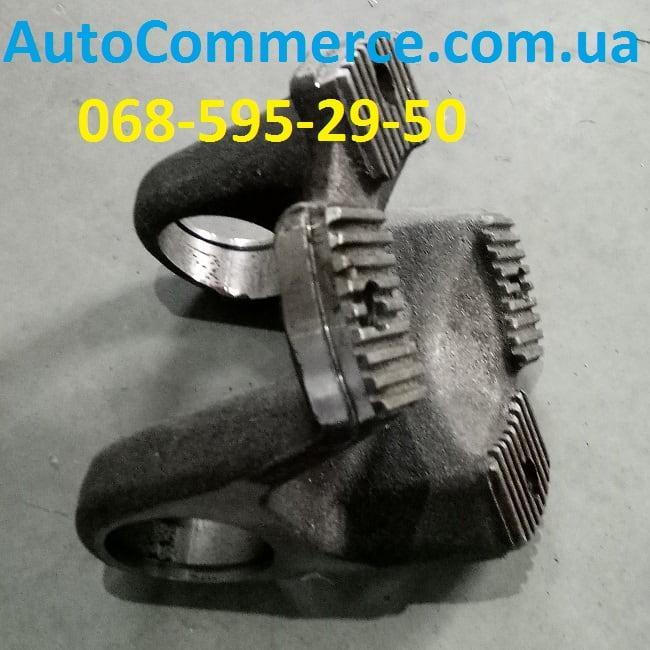 Фланец-вилка карданного вала под крестовину HOWO, ХОВО, SHAANXI (D=52mm,d=180mm, 4=отв)