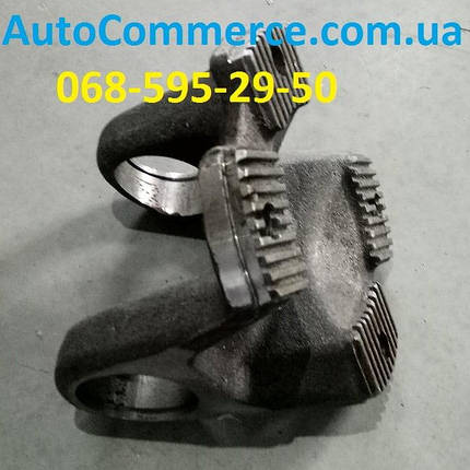Фланец-вилка карданного вала под крестовину HOWO, ХОВО, SHAANXI (D=52mm,d=180mm, 4=отв), фото 2
