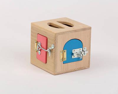 Ящик Монтесори Маленький   Ігри на логіку   Логічні ігри   іграшки   Дерев'яні іграшки