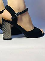 Высокое качество! Женские босоножки с открытым носом,на среднем каблуке.р. 33 34 35 36 37 38 39 40. Vellena, фото 4