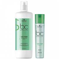 Шампунь для об'єму Schwarzkopf Bonacure Collagen Volume Boost Shampoo 250ml/1000ml