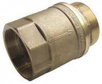 Клапан обратный латунный для байпаса Ду50