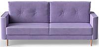 Диван раскладной (еврокнижка) Купер фиолетовый Shik