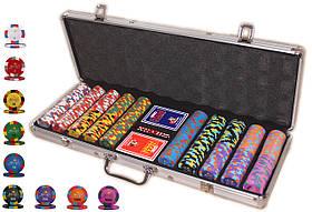 """Покерный набор на 500 фишек """"Monte Carlo Millions"""""""