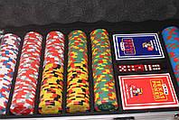 """Покерный набор на 500 фишек """"Monte Carlo Millions"""", фото 3"""