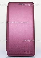 Чехол-книжка для Samsung A6 2018 бордовый
