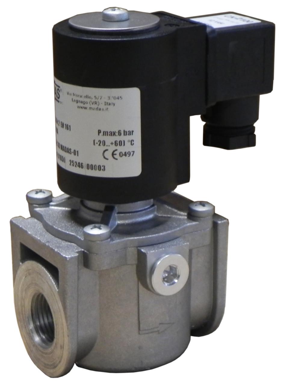 Электромагнитный клапан EV-1, DN15, P=1 bar (MADAS)