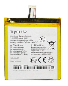 Аккумулятор (Батарея) для Alcatel One Touch Idol Mini 6012 TLp017A2 (1700 mAh) Оригинал