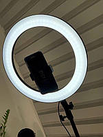 Кольцевая лампа 36 см, кольцо света, лампа для салонов красоты, ring lamp, лампа для визажиста